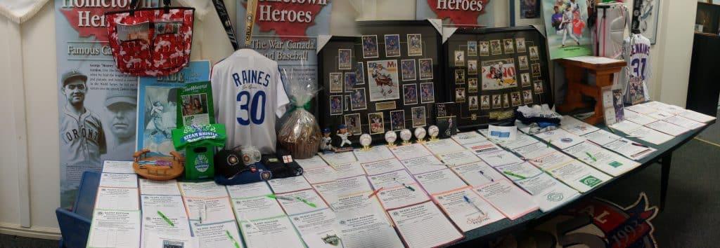 Auction display