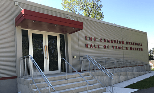 the_canadian_baseball_hall_of_fame_and_museum_front_of_building